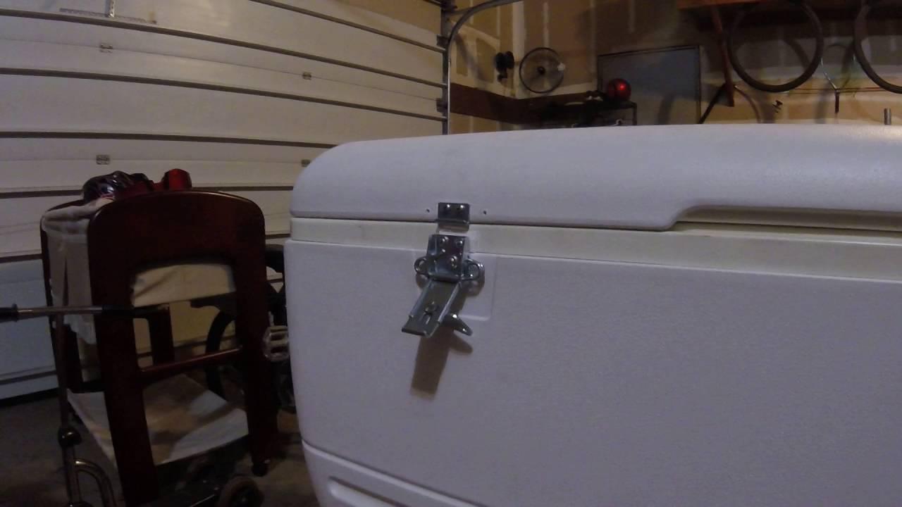 igloo cooler lifetime latch fix