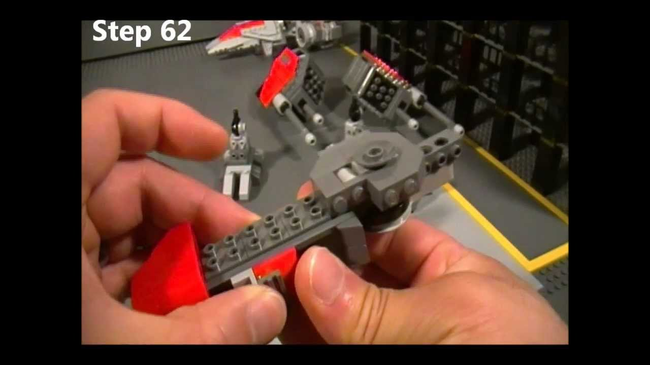 Lego Goliath Instructions Part 2 Of 5 Starcraft Ii Terran Youtube