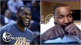 Kendrick Perkins responds to LeBron's playful boxing criticism | Hoop Streams
