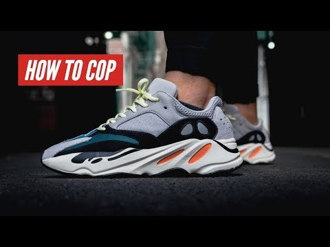 Vlog 13 - How to cop Yeezy 700 (Restock) - Hung Dinh