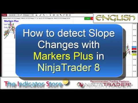 How to detect Slope Changes with Markers Plus for NinjaTrader 8