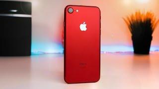 Découverte de l'iPhone 7 Edition Spéciale (RED) d'Apple