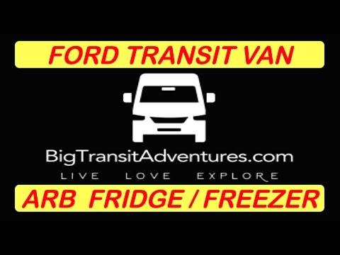 FORD TRANSIT VAN CONVERSION BUILD UPDATE 3 ARB FRIDGE FREEZER RV VANLIFE