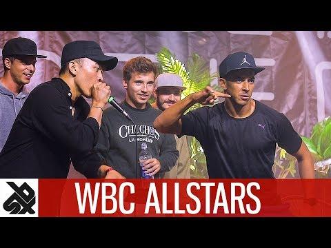 WBC ALLSTARS  Judges Showcase