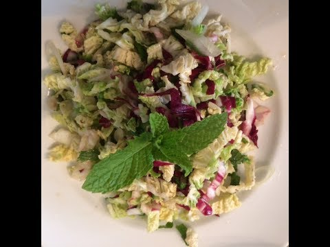 Ideal Protein Lunch Recipes: Honey Dijon Napa Cabbage Slaw
