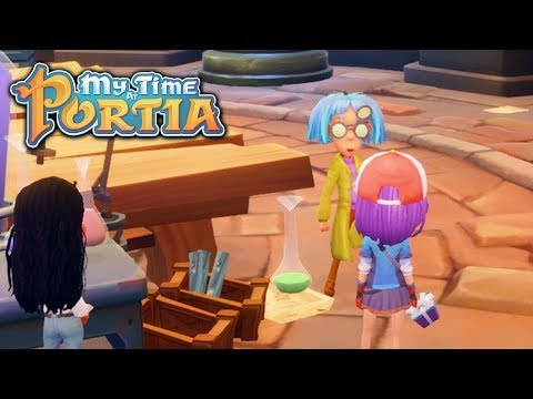 Rose Coloured Glasses! - My Time at Portia (Alpha 4.0) – Part 61