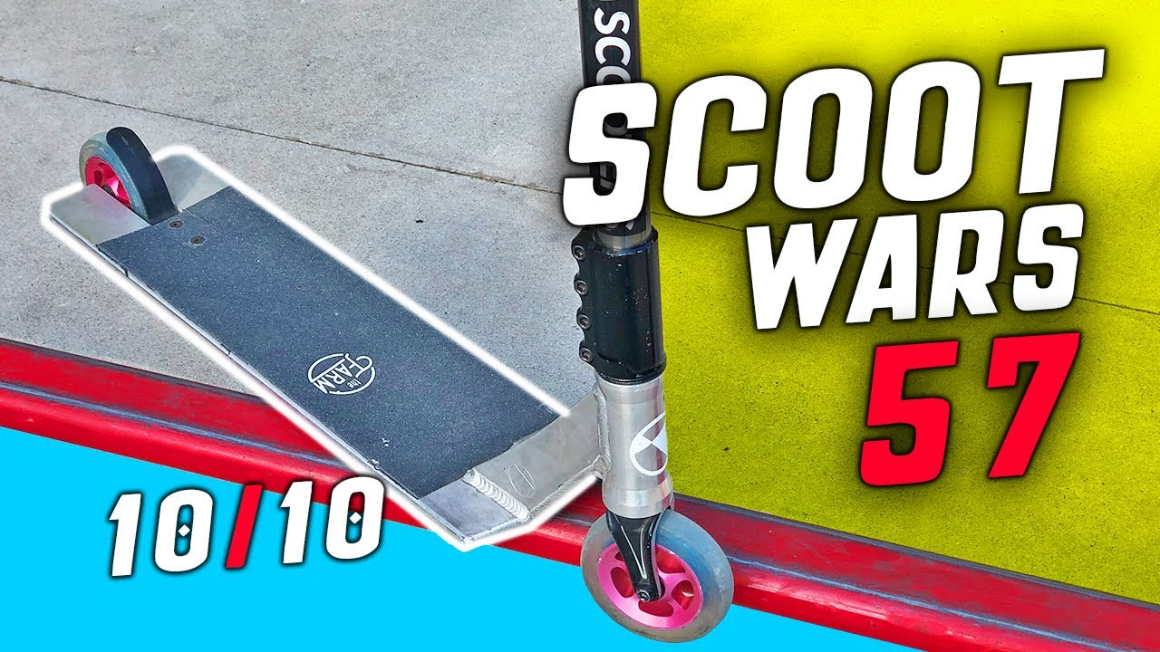 Nobody can beat THIS CUSTOM PRO SCOOTER #SCOOTWARS