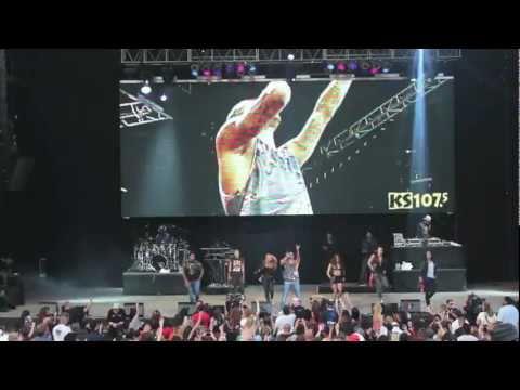 """Chris Brown """"She Ain't You"""" at KS 107.5 Summer Jam - Denver, Co"""