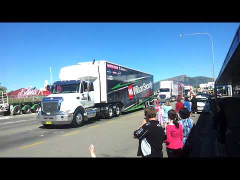 2012 Townsville 400 transporter parade