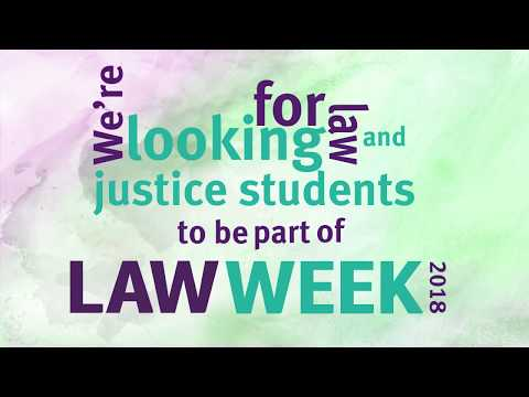 Applications open 2018 Queensland Law Week job shadow program