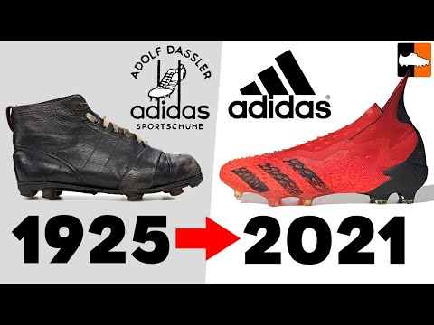 The Evolution Of Adidas Football Boots! Soccer Cleat History