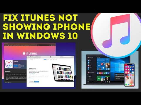 Fix: IOS Device Not Showing In ITunes For Windows