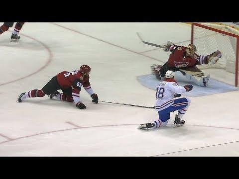 Antti Raanta robs Nikita Scherbak with incredible glove save