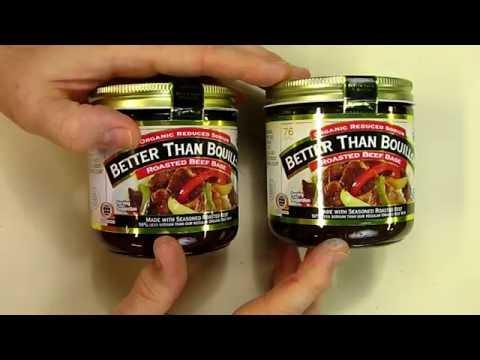 Pack 2 - Better Than Bouillon Organic Beef Base, Reduced Sodium - 16 oz