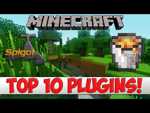 Minecraft - TOP 10 Bukkit/Spigot Plugins Of 2017