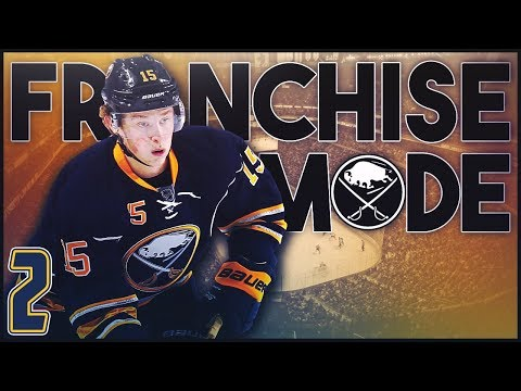 "NHL 18 - Buffalo Sabres Franchise Mode #2 ""Season One Begins"""