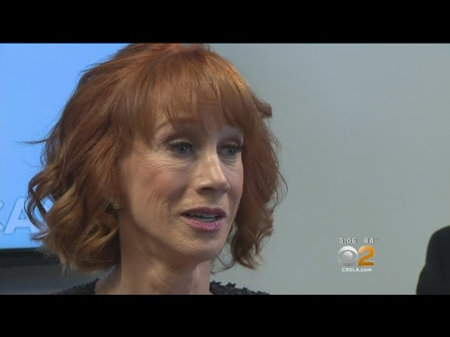 Kathy Griffin On Trump Photo Fallout\: \'He Broke Me\'