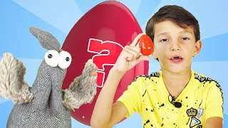 Super Chicken Lays Toy Eggs With Surprises | Funny Video To All Children | #UnpackingToys
