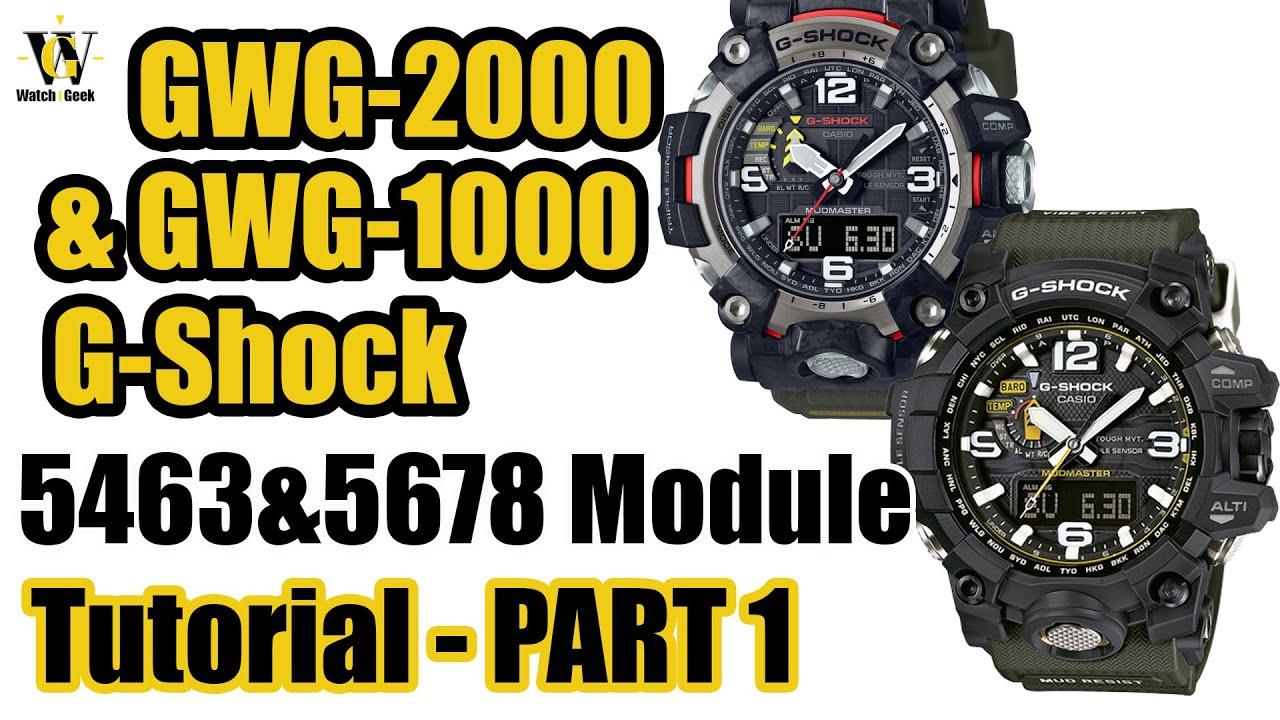 G shock mudmaster manual