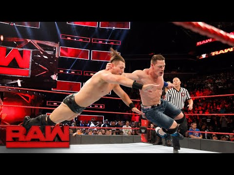 John Cena & Roman Reigns vs. The Miz & Samoa Joe: Raw, Aug. 21, 2017 thumbnail