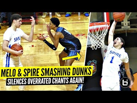 LaMelo Ball CLOWNIN' & TOYING w/ Defenders After Crowd Chants 'OVERRATED'!!