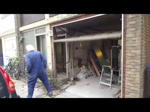Super Klus blunder - Garagedeur veer verwijderen - YouTube EX36