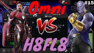 AW S2 #15: Omni Vs H8FL8  l  Marvel Contest Of Champions
