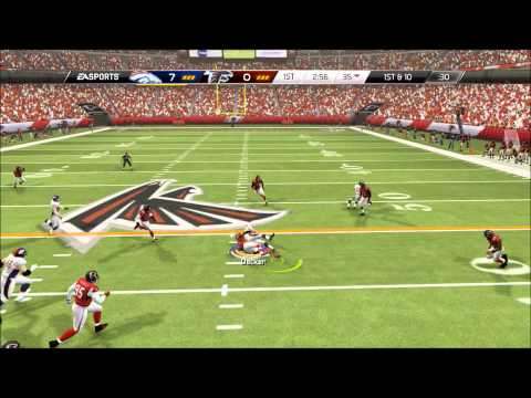 Madden 25 ll How to throw Dots ll Peyton Manning ll Online Gameplay