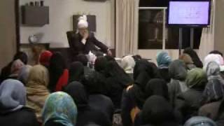 Gulshan-e-Waqfe Nau (Lajna) Class: 5th December 2009 - Part 2 (Urdu)