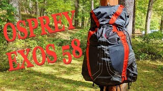 osprey Exos 58 Review vs Atmos 65