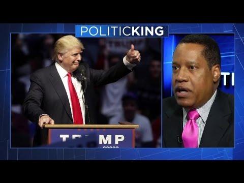 Larry Elder Discusses Donald Trump