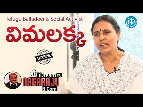 Telugu Balladeer and Social Activist Vimalakka Full Interview || Talking Politics With iDream #85