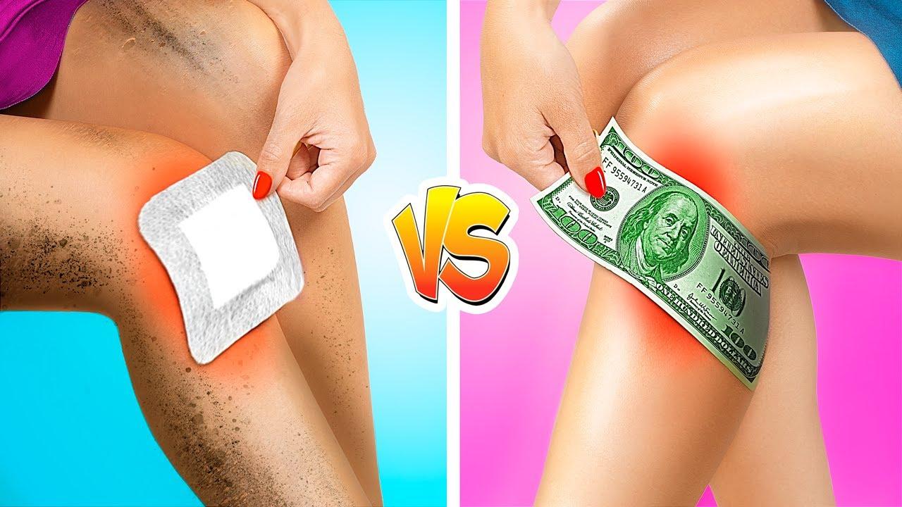 Rich vs Broke Sport Girl! Rich vs Poor Fitness!