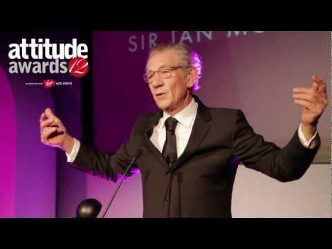 Attitude Awards 2012: Icon Award for Outstanding Achievement, Sir Ian McKellen