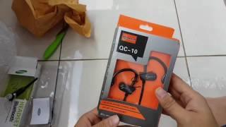 Review unboxing lazy pod headset bluetooth samsung wireless opoolo bukalapak toko paragon jaya INDON
