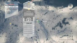 The Viking is playing Steep all drop zones on Tyrol