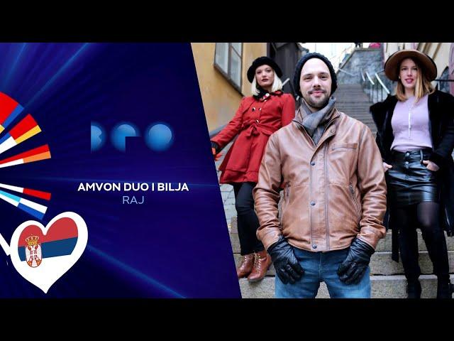 Amvon duo i Bilja - Raj / Beovizija 2020