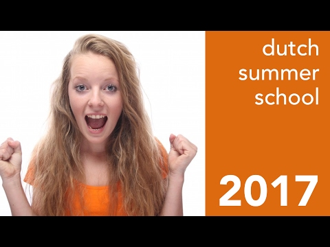 Learn Dutch during your 2017 summer holiday!