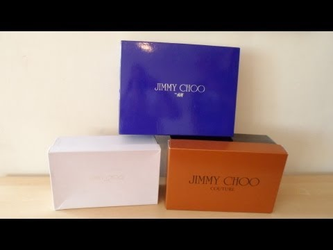 How to basic - Spot AUTHENTIC JIMMY CHOO SHOE RANGES