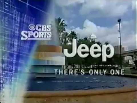 2001 NFL on CBS Promo 3