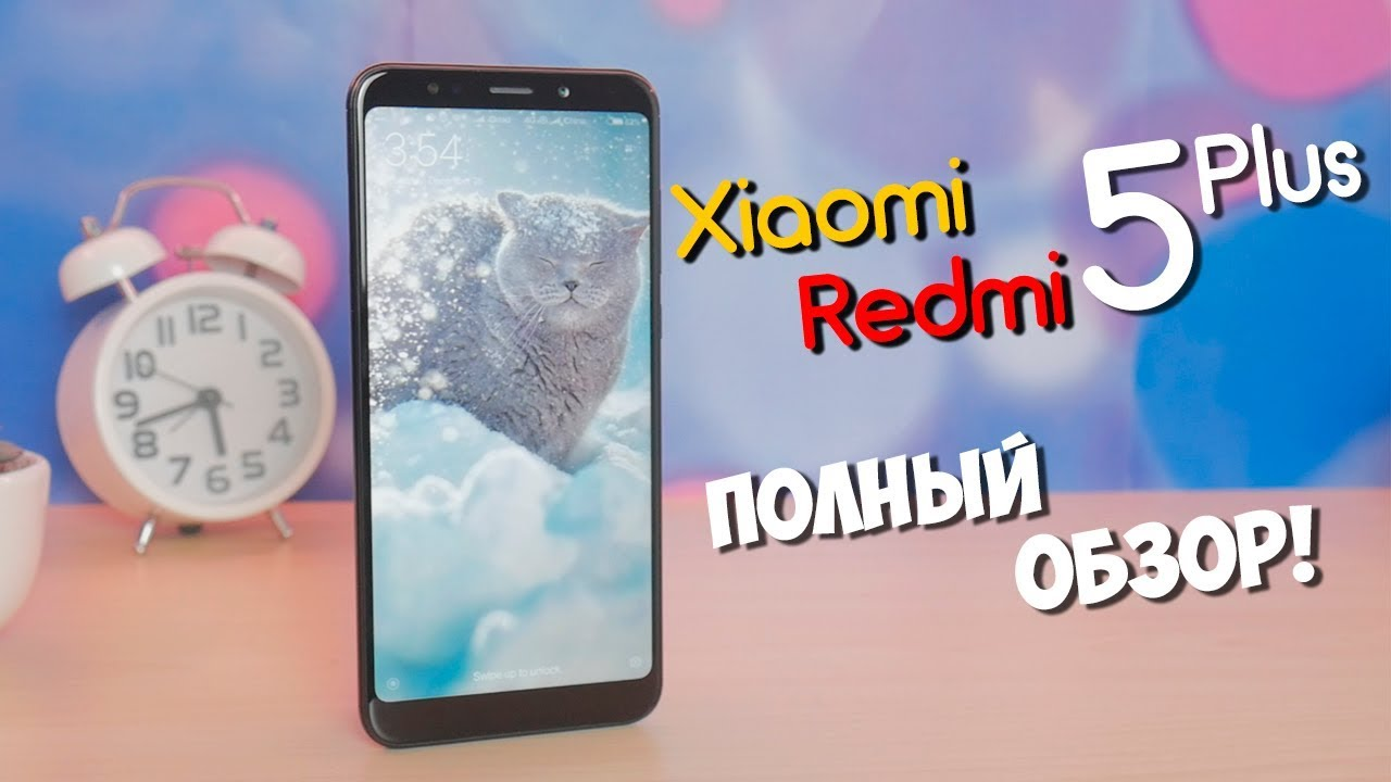 Xiaomi Redmi 5 Plus - Review!