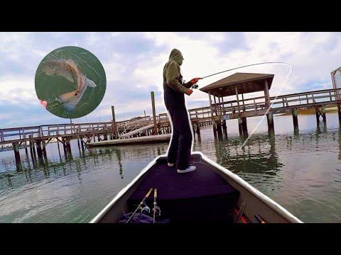 Winter Inshore Fishing  (Wilmington NC) Red Fish, Speckled Trout & Flounder