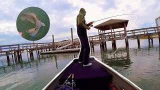 Winter Inshore Fishing Wilmington NC Red Fish Speckled Trout Flounder