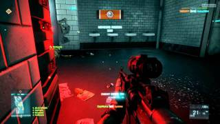 bf3 alpha multiplayer metro rush attackers side gameplay full round