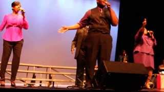 "Justin Aaron & the Royal Priesthood singing ""Every Praise"" by Hezekiah Walker"