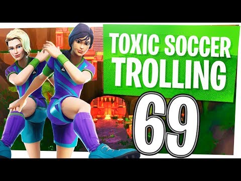 ALL SOCCER SKINS MUST DIE! - Fortnite Funny Moments w/ Wildcat