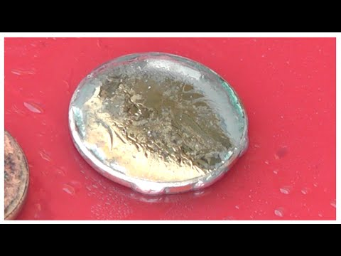 Can You Soak Up Mercury with a PENNY?   (Copper Amalgam)