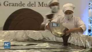Venezuela tries to make world's largest chocolate coin