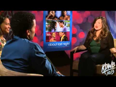 'About Last Night' Interview with Michael Ealy & Joy Bryant