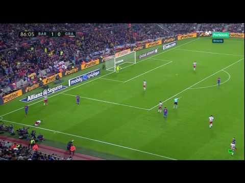 Neymar vs Rubén Vezo | Barcelona vs Granada